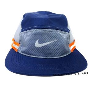 Nike NikeLab Ispa AW84 Blue Orange Reflective Cap